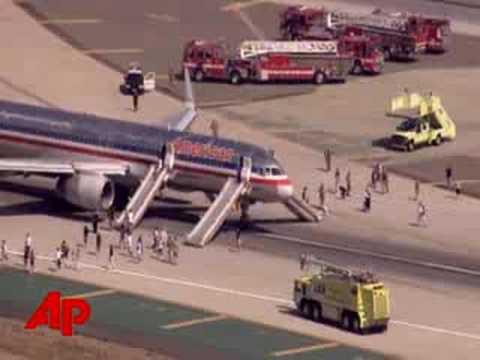 Raw Video: Emergency Landing at LAX