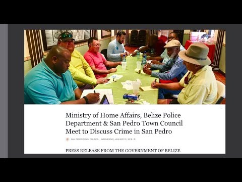 The Truth about Crime in Belize and Ambergris Caye