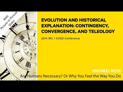 Michael Ruse - Are Humans Necessary? Or, Why You Feel the Way You Do