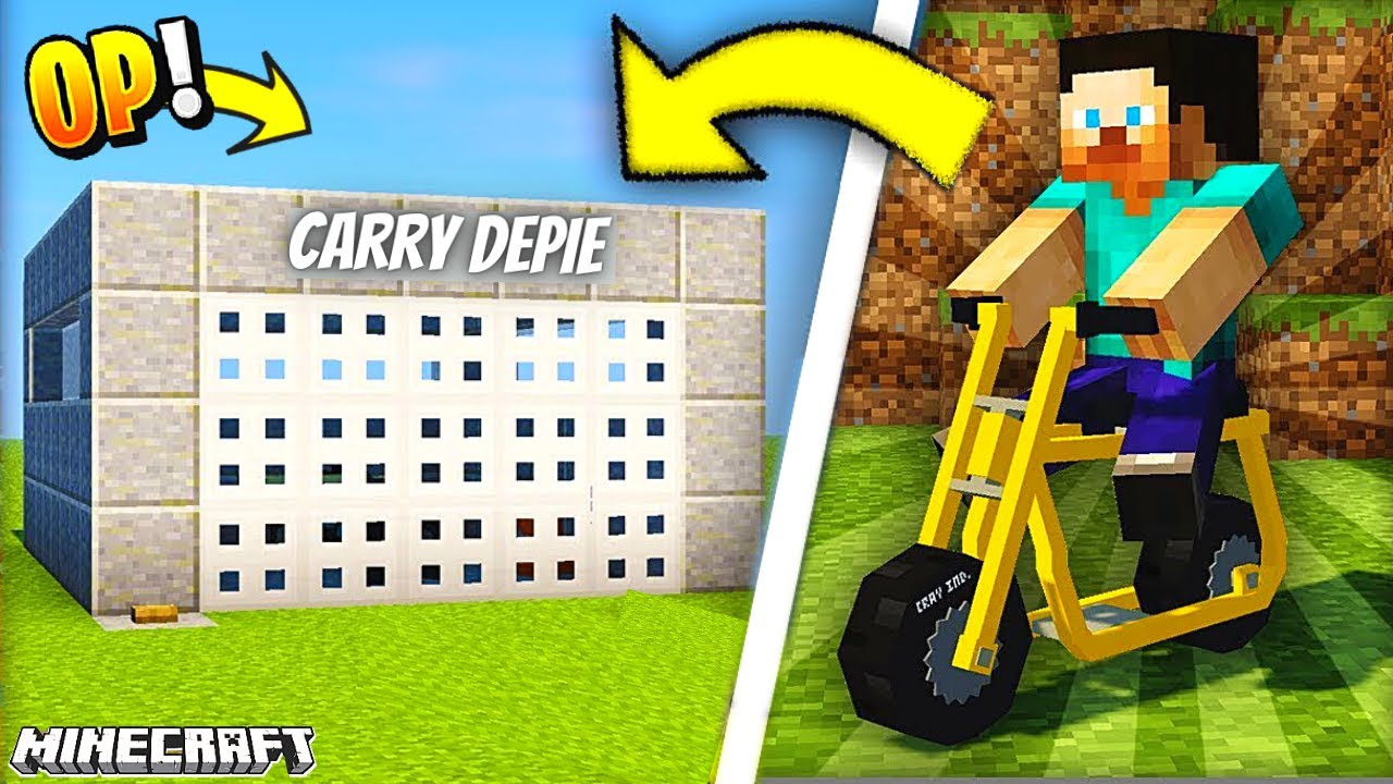I Made An EPIC GARAGE for Bike In Minecraft 🔥🔥