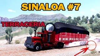 SINALOA #7 | Mapa Mexico ATS | Nos bloquearon los malos, por terraceria | MACK SUPERLINER thumbnail