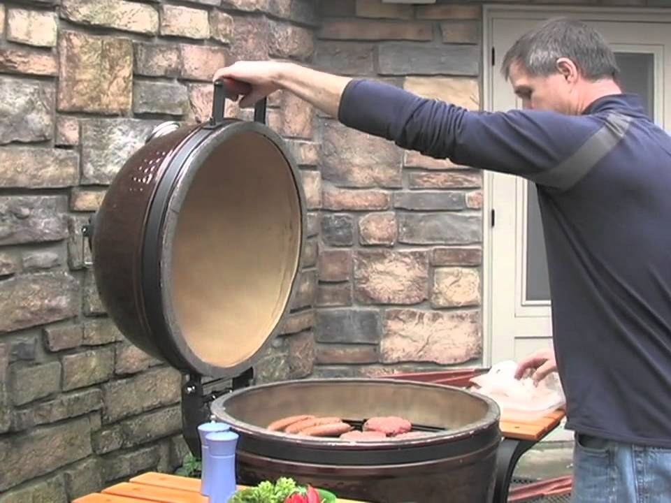 how to clean ceramic bbq grill