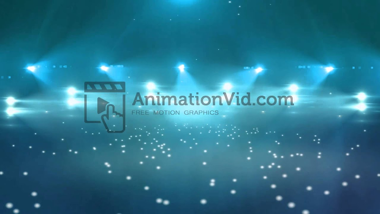 Flashing Lights Concert Stage Motion Background - YouTube for Concert Stage Lights Background  29dqh