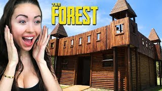BUILDING THE ULTIMATE BASE!! (The Forest)