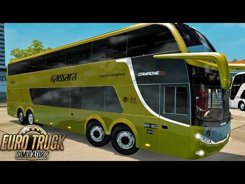 Euro Truck Simulator 2 - Bus | Kaissara - Campione DD - São Paulo/Porto Alegre
