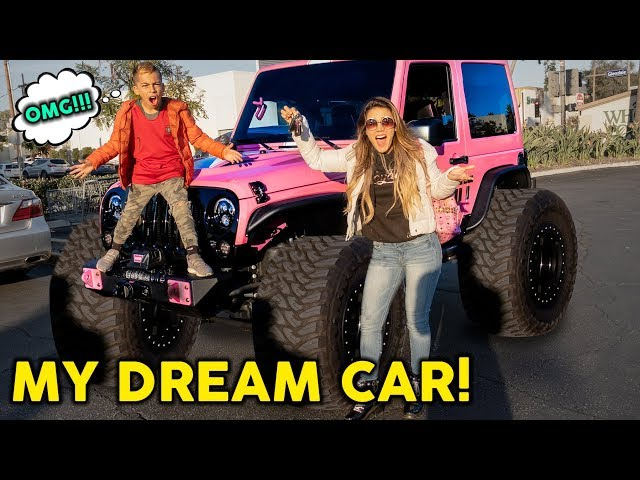 BUYING MY 8 YEAR OLD SON AND WIFE DREAM CAR! **EMOTIONAL** | The Royalty Family