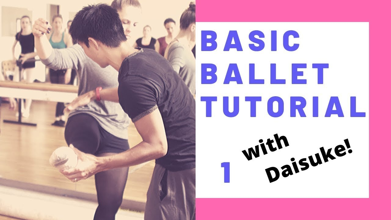 5 minutes Ballet Basic Workout | Ballet@Home | ballet with Daisuke |