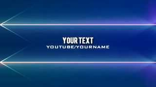 Text Effect Intro Template Download Free #42