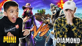 Intense Fortnite Season 6 1v1 Against 10 Year Old Little Brother! HE RAGED!