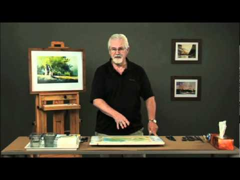 Creating Luminous Watercolor Landscapes with Sterling Edwards