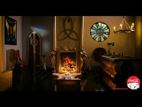 Thor's Asgard Home Fireside Video in 4K