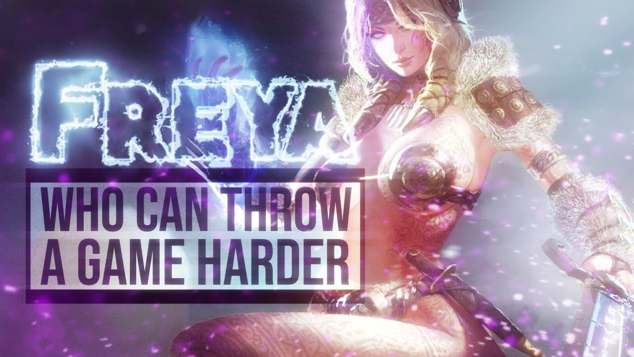 Smite - Who can throw a game harder? - Freya Ranked Diamond 1 Duel Video