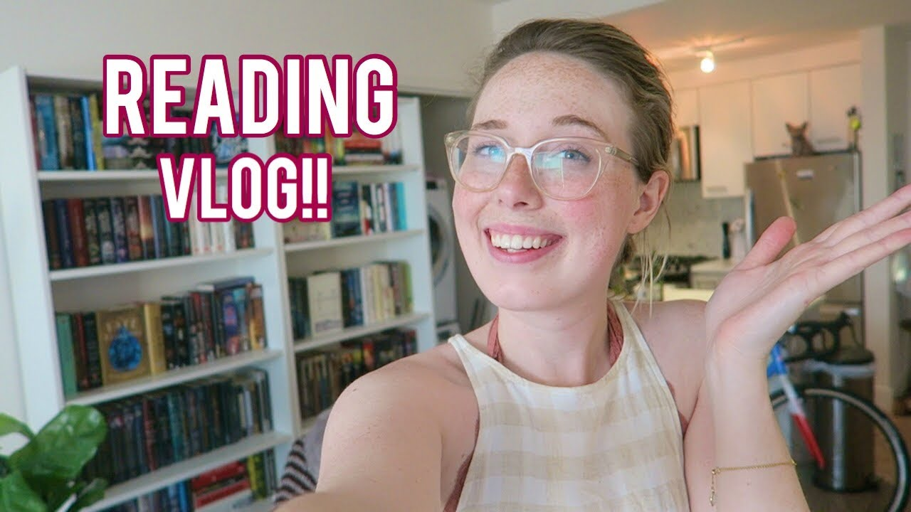 READING VLOG: Book Shopping + Defeating a Reading Slump!