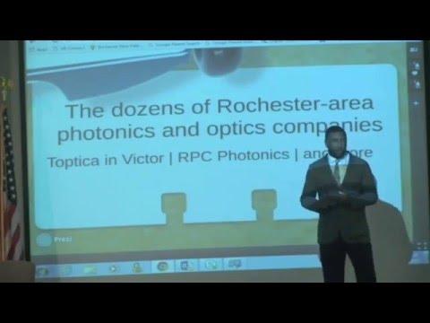 Khristopher J. Brooks discusses Rochester's AIM Photonics