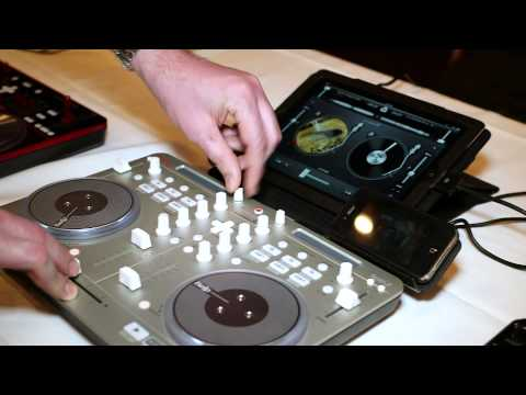 Vestax Spin 2 4-Channel DJ Controller W/ IOS @ Full Compass Tech Expo, Highlights -- April 2013