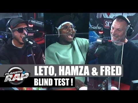 Youtube: LETO, HAMZA et FRED s'affrontent dans un BLIND TEST! #PlanèteRap