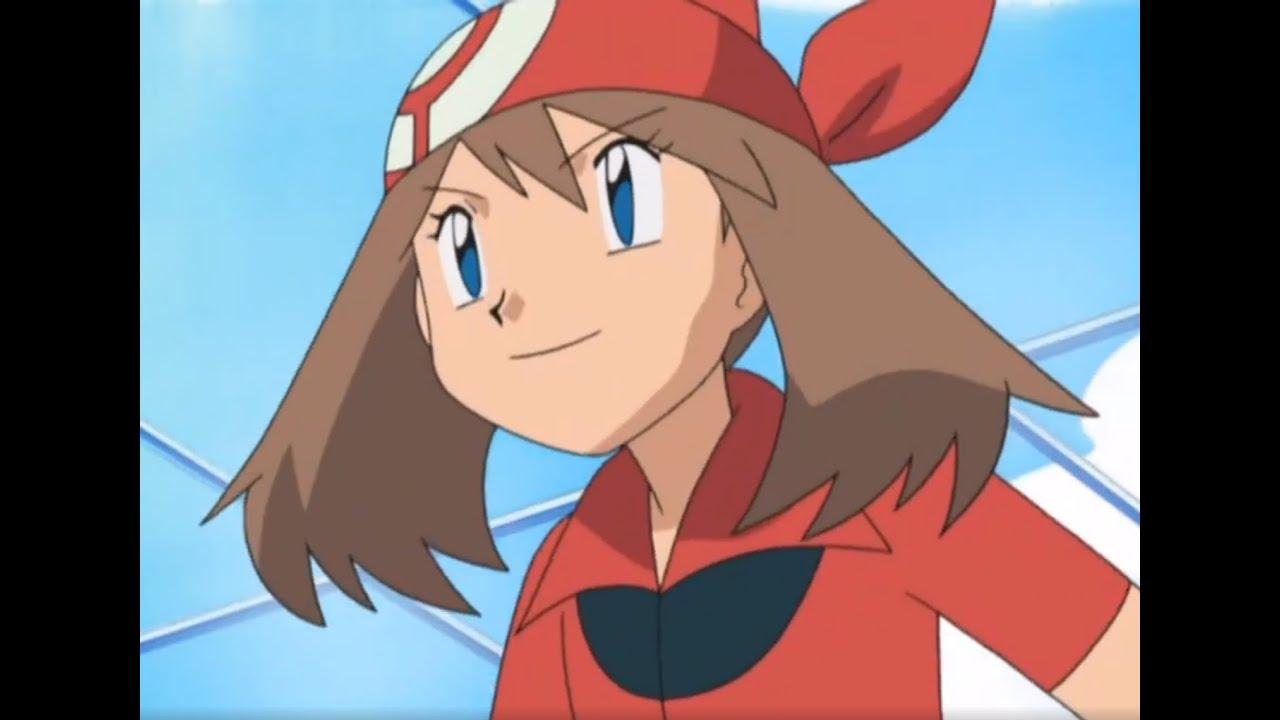 Pokemon Advanced Generation - May/Bautifly/Combusken vs Drew/Rosalia/Butterfree part 1