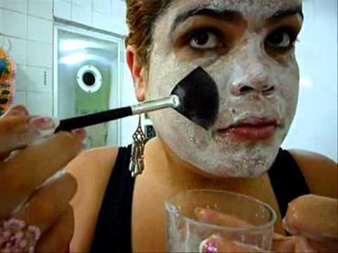 Esfoliação e clareamento de pele caseiros #Tutorial