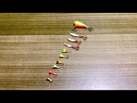 Tackle Tip Tuesday - Top 10 Bluegill Fishing Lures (Ice Fishing Addition)