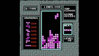 Tetris (nintendo) - Tetris Gameplay (Nes) - User video