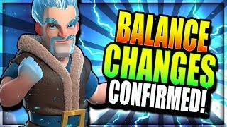 NEW BALANCE CHANGE CONFIRMED!! ICE WIZ BUFF BROKEN!? Clash Royale Balance Discussion & Speculation