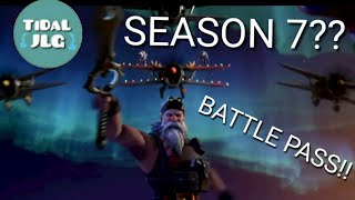 🌊 Fortnite SEASON 7 Intro and NEW BATTLE PASS! - TiDaL JLG
