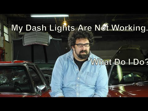 My Dash Lights Are Not Working.  What Do I Do?