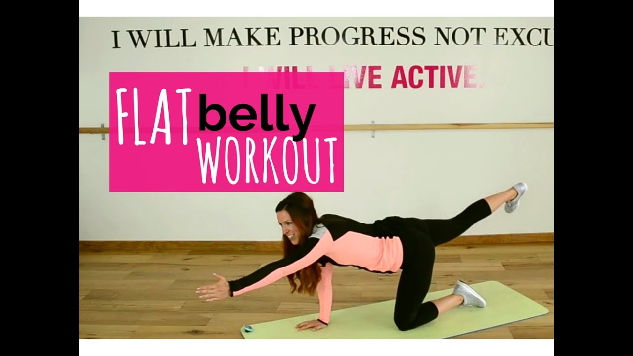 Flat tummy workout for women