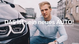 DAS ist sein neues Auto! [w/ @huxy_88] // VLOG 003 // niklasgotta