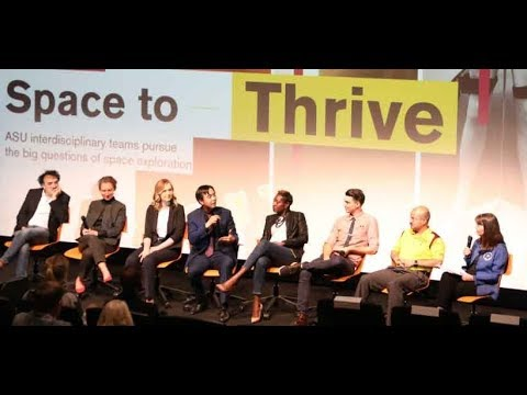 Interplanetary Space to Thrive Public Panel