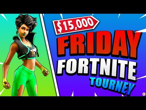 $15,000 Friday Fortnite Tournament - Nick Eh 30 vs Ghost Aydan