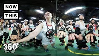 Roller Derby 101 with the Gotham Girls of NY | Unframed by Gear 360 | NowThis thumbnail