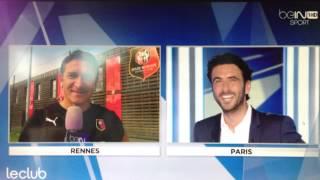 Philippe Montanier parle de Pablo Piatti
