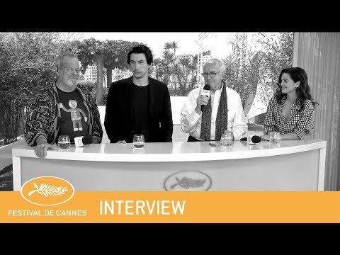 THE MAN WHO KILLED DON QUIXOTE - Cannes 2018 - Interview - VF