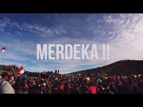 Pendakian Merapi 17 Agustus 2017 Via New Selo