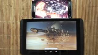Samsung Galaxy S7 vs NVIDIA Shield K1 - 3DMark