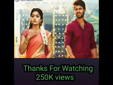 Geetha Govindam 2018    Tamil  Movie Trailer