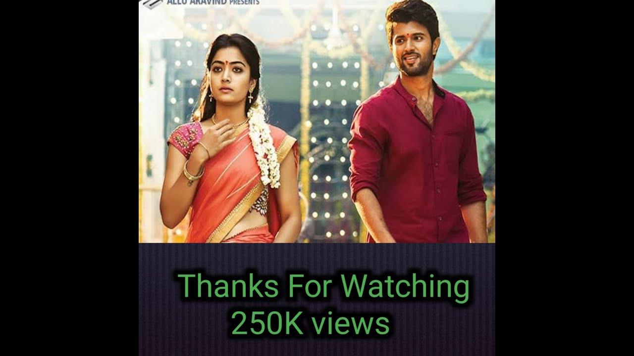 Download Geetha Govindam 2018    Tamil  Movie Trailer