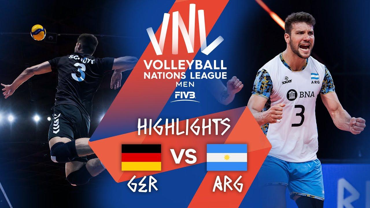 Download GER vs. ARG - Highlights Week 2   Men's VNL 2021