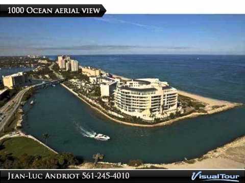 Sold condo $10,400,000 1000 Ocean #703 Boca Raton FL 33432 Call Jean-Luc 561-213-9008