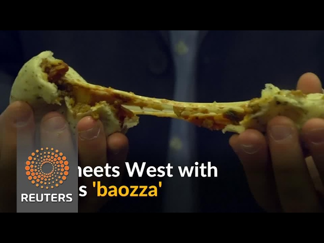 Pizza with a twist at China's latest food startup