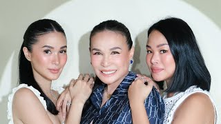 COOKING WITH MOM AND CAMILLE   Heart Evangelista