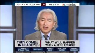 Michio Kaku speaking about Alien Invasions