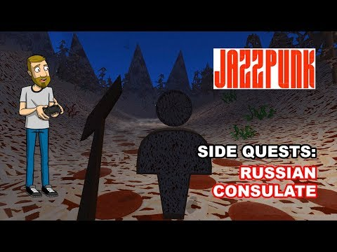 RUSSIAN CONSULATE SIDE QUESTS | Jazzpunk