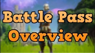 BATTLE PASS Overview - Fortnite Battle Royal Season 2