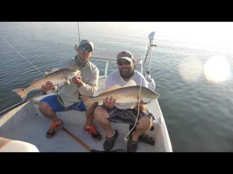 Sight casting Redfish in the Laguna Madre Fall Redfish Run
