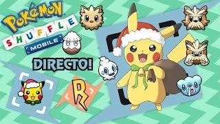 Pokémon Shuffle Mobile | SAFARI NAVIDAD EN DIRECTO!!! Pikachu Festivo (Holiday)