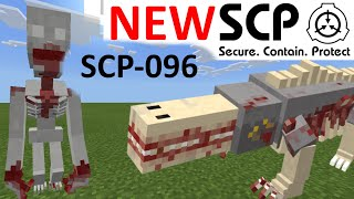 SCP-096 SCP Foundation Addon New/improved SCP's In Minecraft