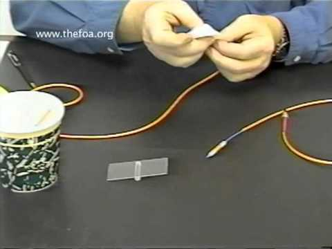 Fiber Optic Cable: Mechanical Splice