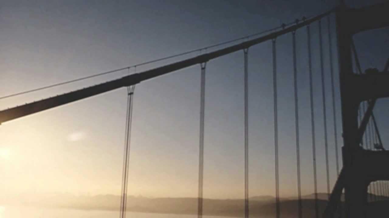1982 Climbing The Golden Gate Bridge Youtube